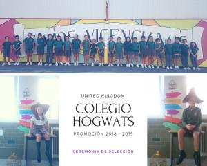 CEREMONIA DE SELECCIÓN HOGWARTS